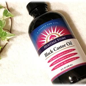 Black Castor Oilパワーで頭皮にエネルギーを♪