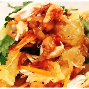 河内晩柑のベトナム風ポメロサラダ