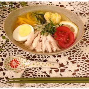 自家製水キムチでつくるグルテンフリーのさっぱり冷麺