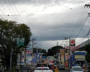 接近中。。。台風12号【ドルフィン】