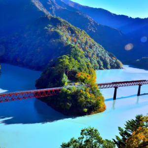 奥大井の紅葉と大井川鉄道