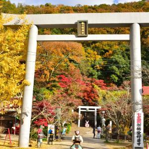 愛知紅葉巡り 桃太郎神社、犬山城