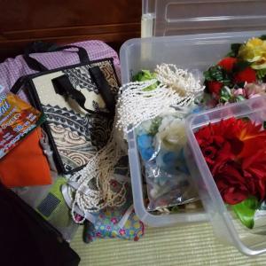 イベント出演の後は荷物の片付け必須(^_^;)