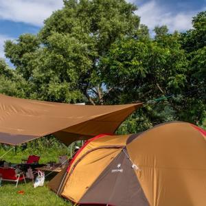 キャンプ回顧録 3回目のキャンプ@白川ダム湖岸公園キャンプ場 2014/07/12~13