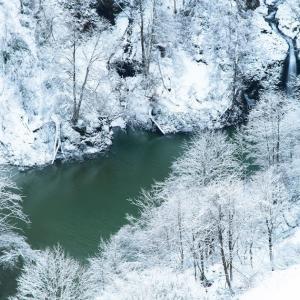 白き高山流水 / White scenery in Winter