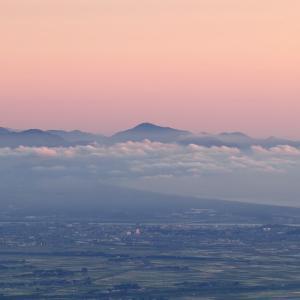 霞の庄内平野 / Shonai Plain in the mist