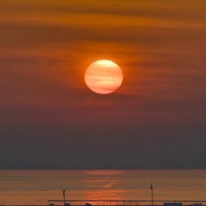 朧陽 / A hazy sunset