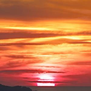 空焦がす落陽 / Sunset into the Sea