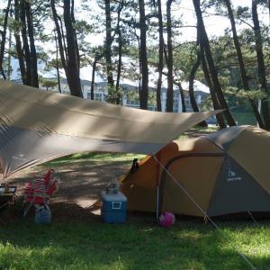 キャンプ回顧録 6回目のキャンプ@西浜キャンプ場 2014/09/27~28