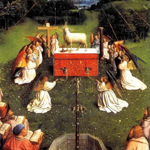 「神秘の子羊」という宗教画……要予習