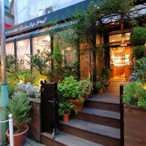 ピーターラビットガーデンカフェの世界観が素敵。自由が丘のカフェ散策
