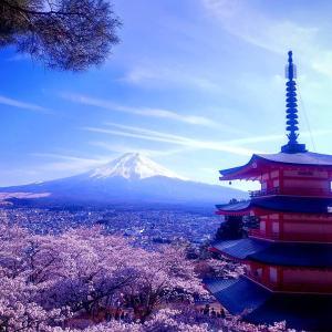 【日本人の知らない絶景】富士山と五重塔そして春に加わる桜【写真スポット】