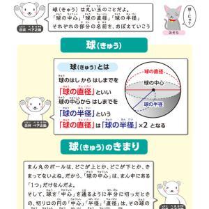 【無料の学習プリント】小学3年生の算数ドリル_球