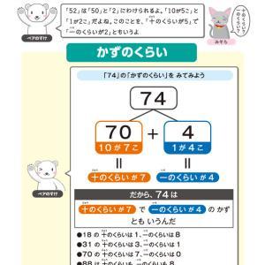 【無料の学習プリント】小学1年生の算数ドリル_100までのかず2
