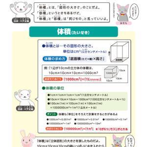 【無料の学習プリント】小学5年生の算数ドリル_体積1