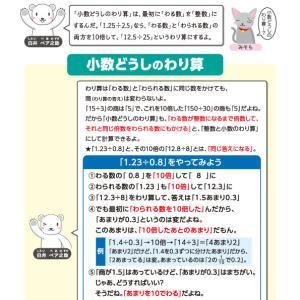 【無料の学習プリント】小学5年生の算数ドリル_小数のわり算1