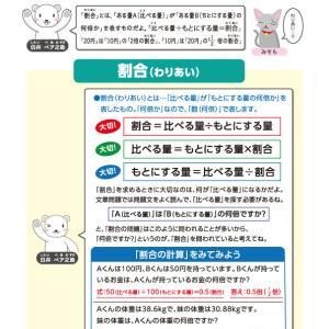 【無料の学習プリント】小学5年生の算数ドリル_割合1