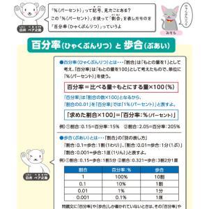 【無料の学習プリント】小学5年生の算数ドリル_割合2