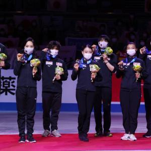 国別終了/みんなで取った銅メダル・日本3位・過酷な戦いお疲れ様でした