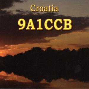 クロアチアからのQSLカード