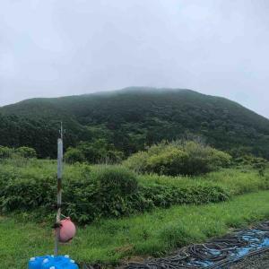 釜谷富士と汐首山