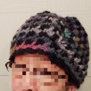 カギ針編みの帽子