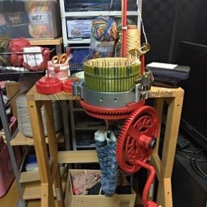 靴下編み機