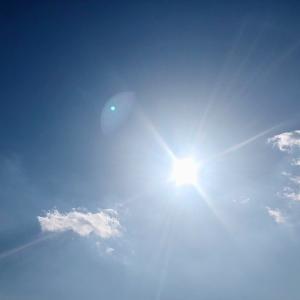 空がきれい!