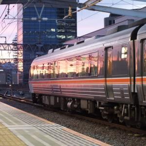 大阪行きの特急ひだを岐阜駅で撮影!