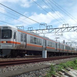 313系の臨時列車を運転