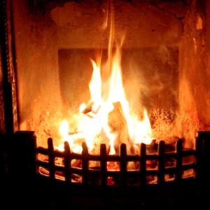 【癒しの音】ぽかぽか癒される暖炉の火|ほっこり暖炉の音|安眠|フルHD1時間