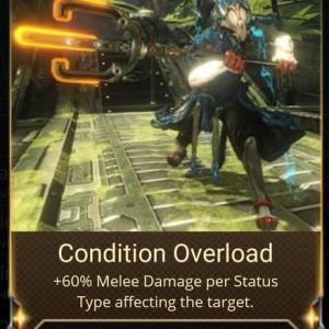 Condition Overload について