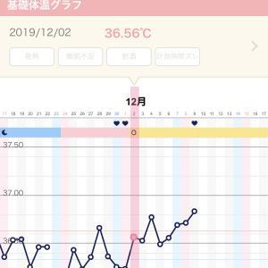 【妊活D23】 高温期。ぐんぐん上昇してます
