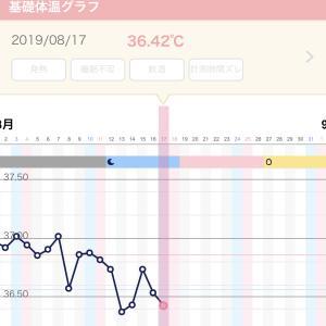 【妊活D6】 ガタガタな基礎体温