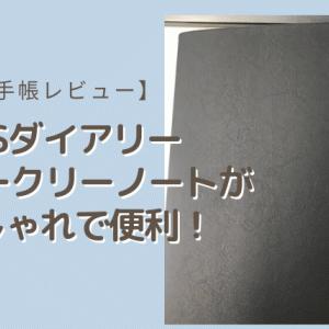 【手帳レビュー】ESダイアリー「ウィークリーノート」を使ってみた!