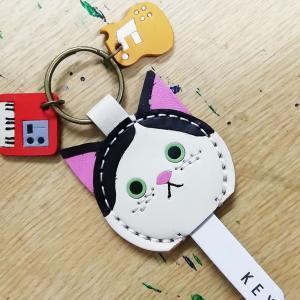 かぎ猫+ギター&キーボード【完成】