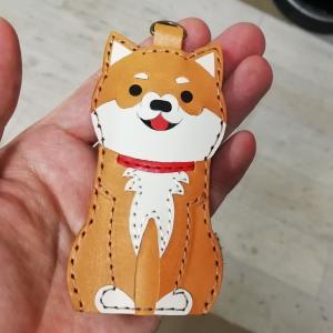 柴犬キーケース【完成】