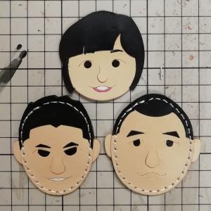 似顔絵キーホルダー3種類【作製中】