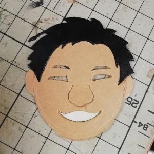 似顔絵キーホルダー×2【作製中】