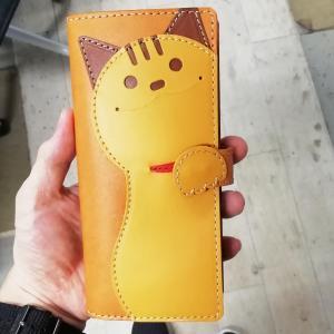 猫スマホケース【完成】