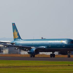 ベトナム航空 A321 ~鹿児島空港にて~