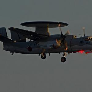 令和元年度航空総隊総合訓練 E-2C ~鹿屋航空基地~