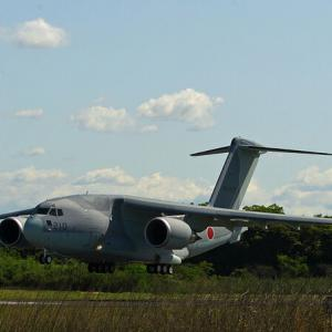 航空自衛隊 川崎 C-2