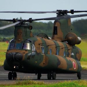 縁の下の力持ち! CH-47 チヌーク