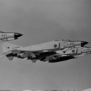 F-4EJ改 旧塗装機のテイクオフ