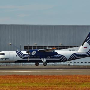 オーロラ航空 DHC-8 ~鹿児島空港~