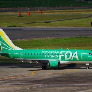 FDA ERJ-170 JA04FJ ~鹿児島空港~