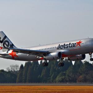 "JETSTAR A320 ""JA05JJ"" ~鹿児島空港~"
