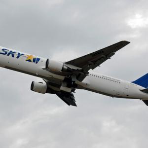 """SKYMARK AIRLINES B767""""JA767A"""""""