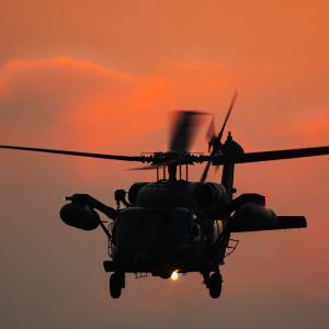 航空自衛隊 UH-60J 救難ヘリ